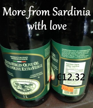 One litre of San Giuliano Olive Oil