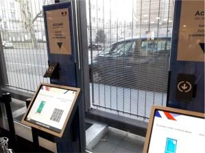 Nouvelles bornes numériques d'accueil à la préfecture du Rhône