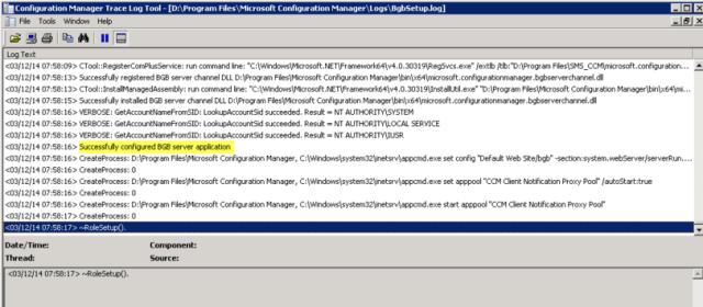 ConfigMgr 2012 R2 – Notification Server Install Errors – Lab Geek