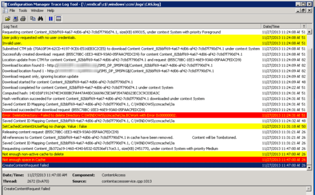 ConfigMgr 2012 – Cache Management Surprise – Lab Geek
