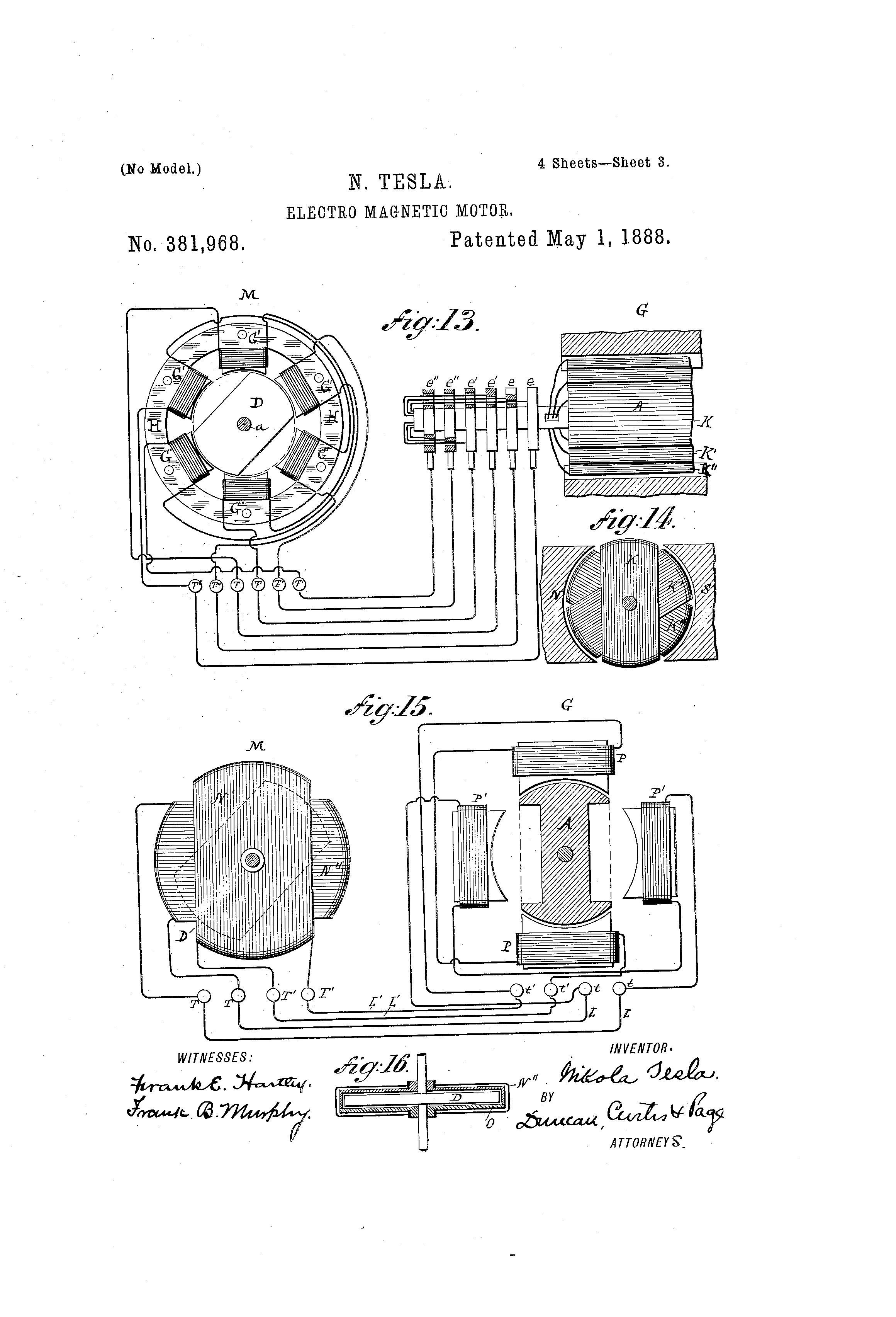 Tesla Patent 381 968