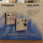 ポラロイド社の真四角デジカメ「Polaroid PDC-5070」を使ってみた。