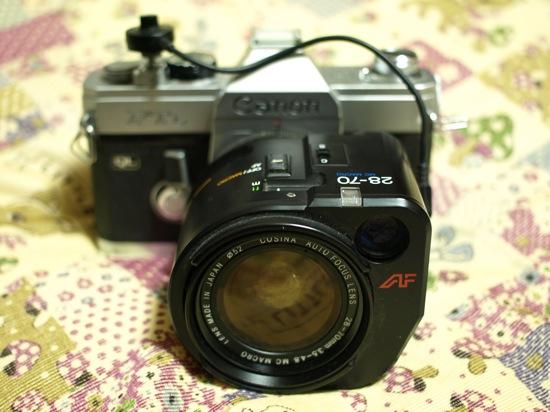 コシナ AF ZOOM LENS 28-70/F3.5-4.8(Canon FTb)