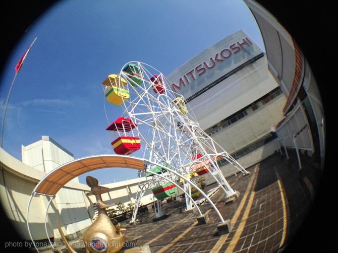 名古屋栄 三越百貨店の屋上にある観覧車が日本最古の物だなんて知らなかった!