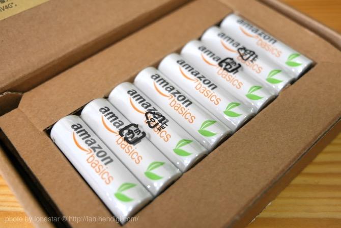 Amazonベーシック 電池