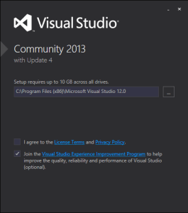 setup-vsc2013-with-update4