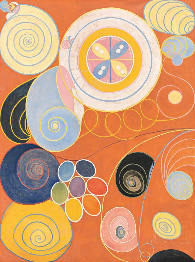Group IV, No. 3. The Ten Largest, Youth - Hilma af Klint, 1907