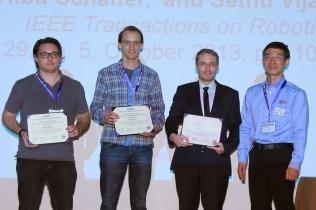 IEEE ICRA Hong Kong: Best 2013 IEEE T-RO Paper Award (June 2014)