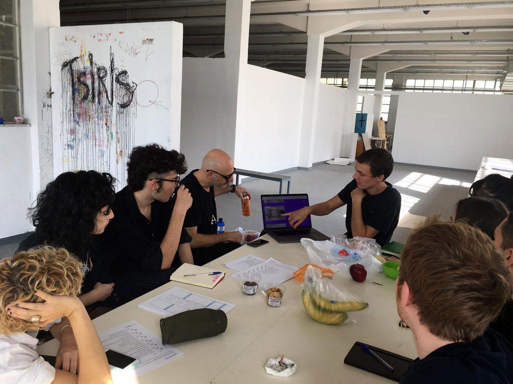 Ed Fornieles, Studio Visit, ASFA Lab12