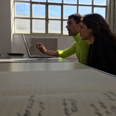 Poetry Reading Group, Joey & Christina, ASFA Lab12
