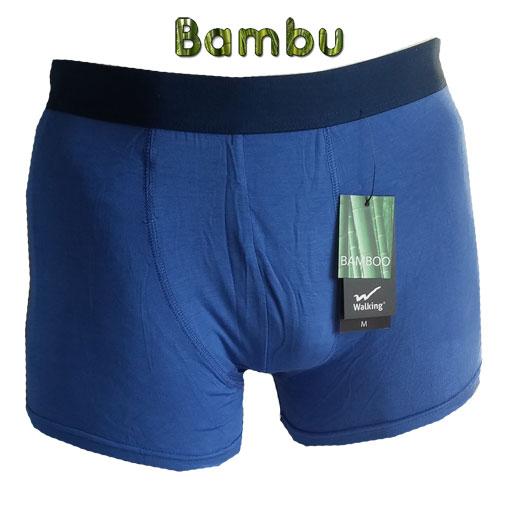 bambukalsonger blå