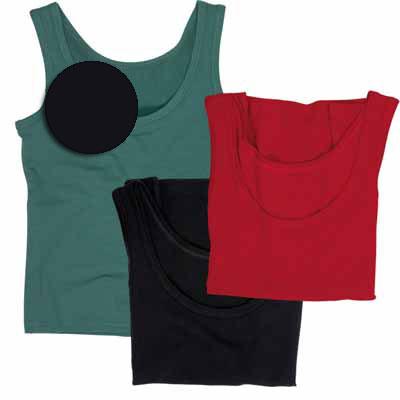 svart linne av ekologisk bomull