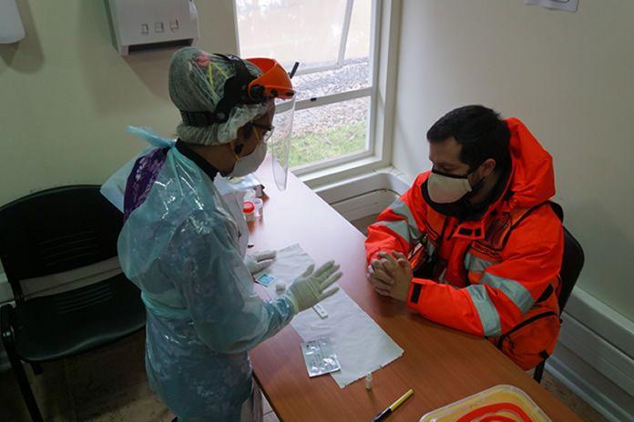 test de antígeno