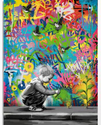 tableau street art pour une decoration