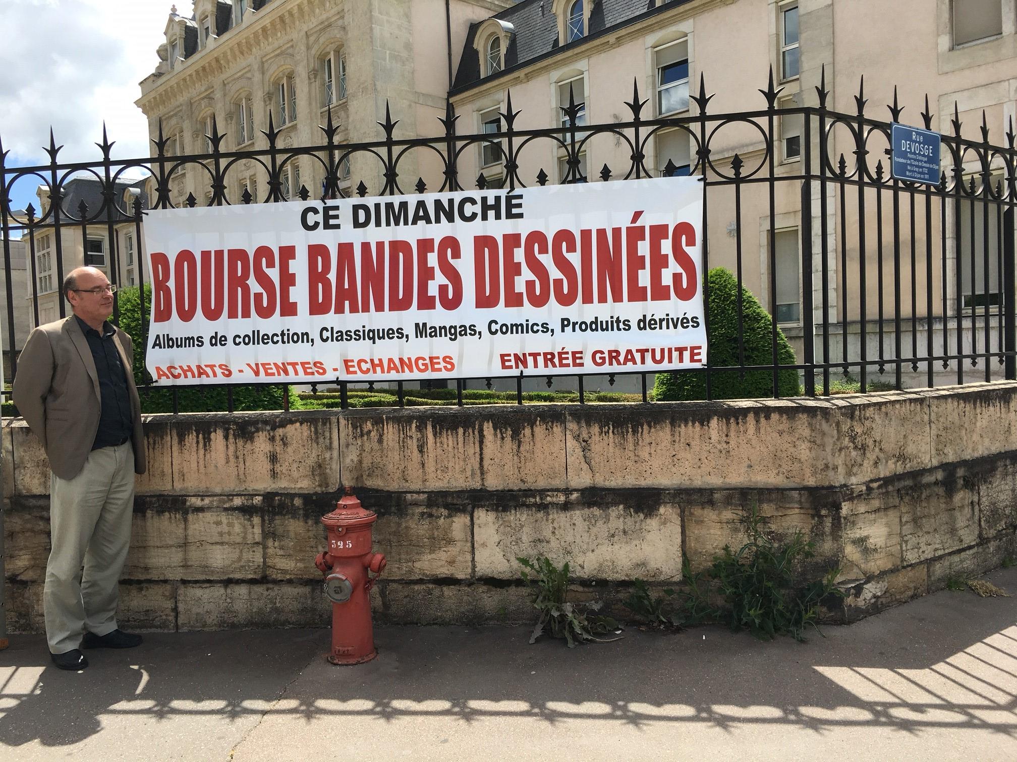 Banderole Bourse BD