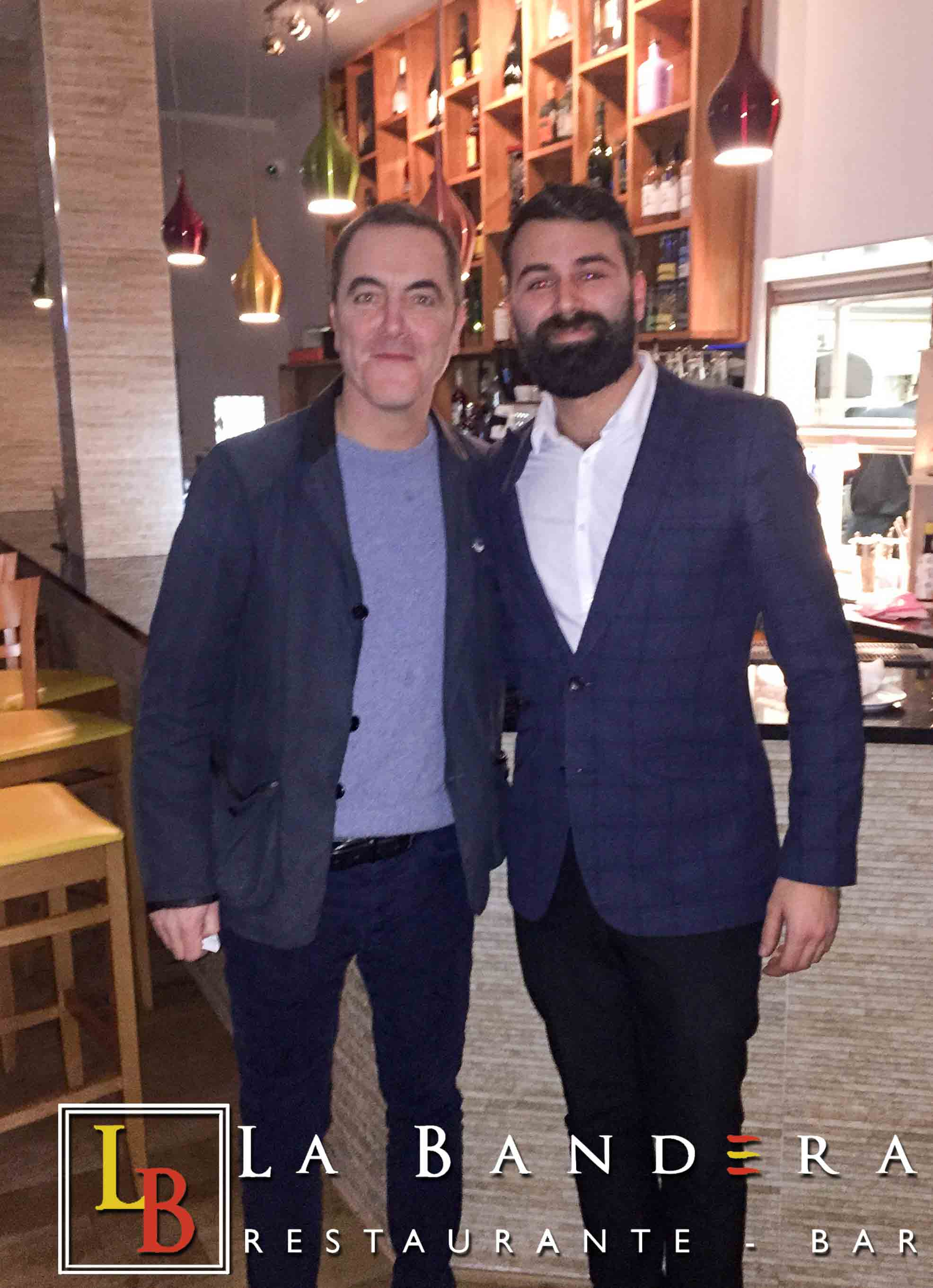 James Nesbitt at La Bandera