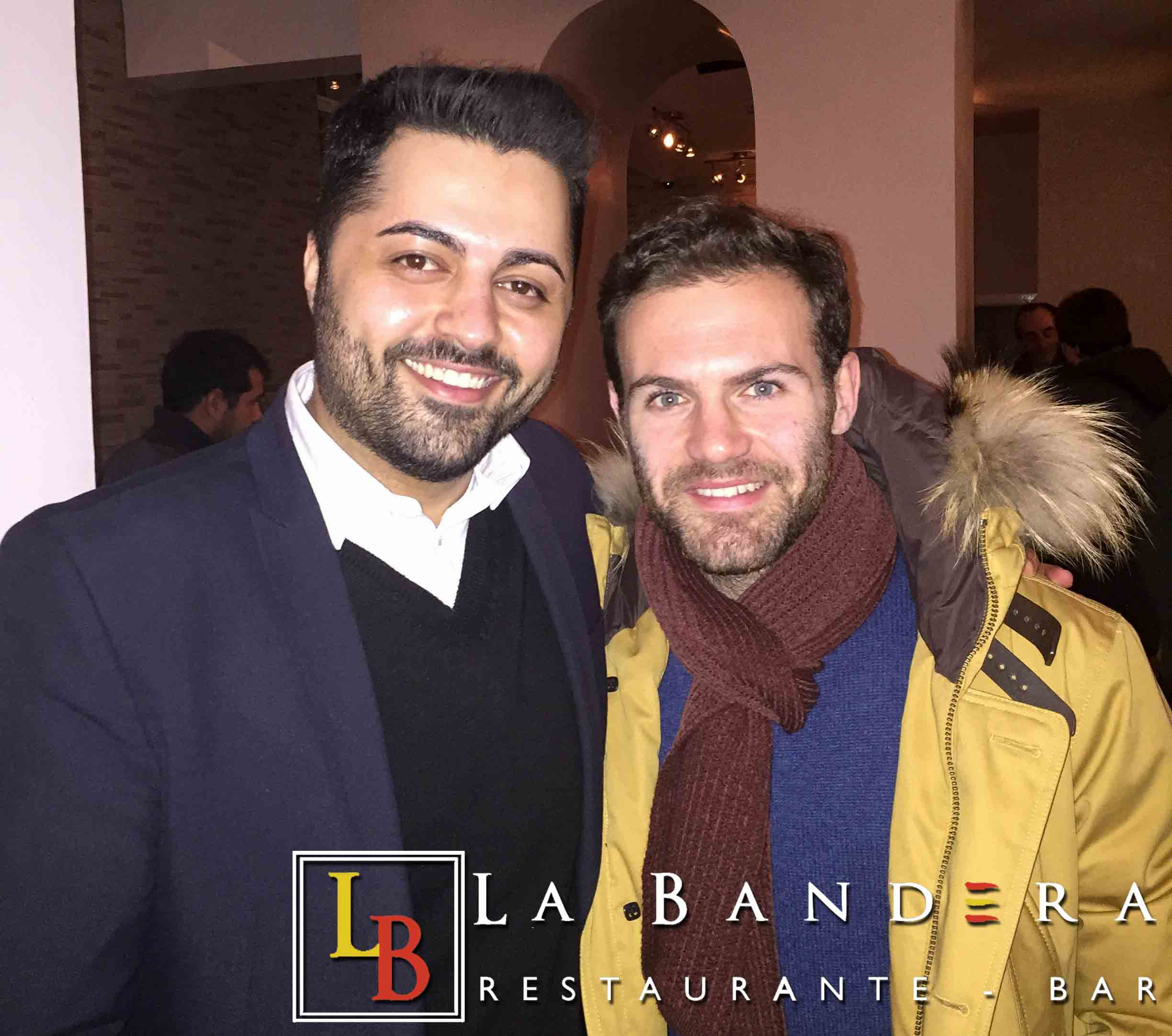 Juan Mata at La Bandera