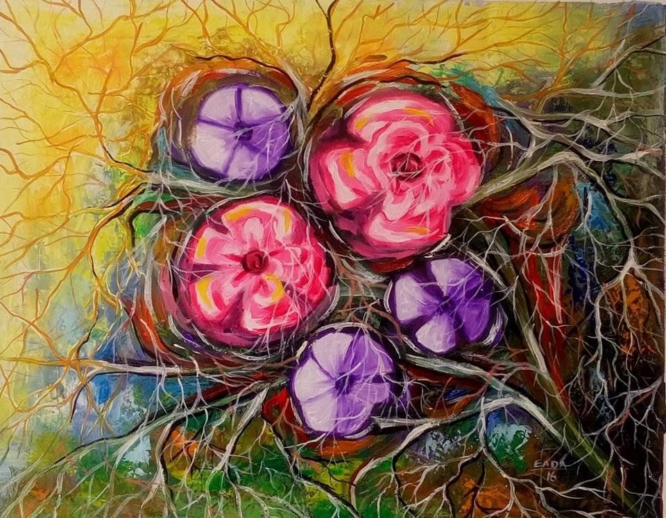 Elada – Arts visuels – peinture