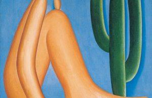 Abaporu (1928. Tarsila do Amaral). Palabra proveniente del tupí guaraní, que significa 'hombre que come'. Esta pintura, expuesta en el Museo de Arte Latinoamericano de Buenos Aires (Malba), inspiró a Oswvald de Andrade para la elaboración del manifiesto Antropófago.