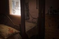 Detalle interior de habitación en casa de Samuel Morán. Foto: Vicente Gaibor del Pino