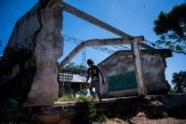 Antiguo Colegio en La Tejeda, una vereda de El Carmen de Bolívar, el cual se derrumbó por una granada arrojada en medio de combates entre el Ejército y las guerrillas de las FARC.
