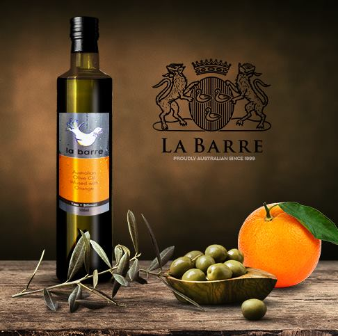 orange infused olive oil