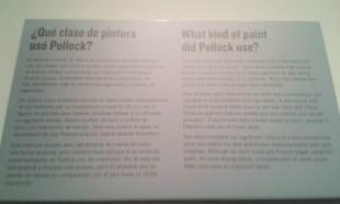 ¿Qué clase de pintura utilizó Pollock?
