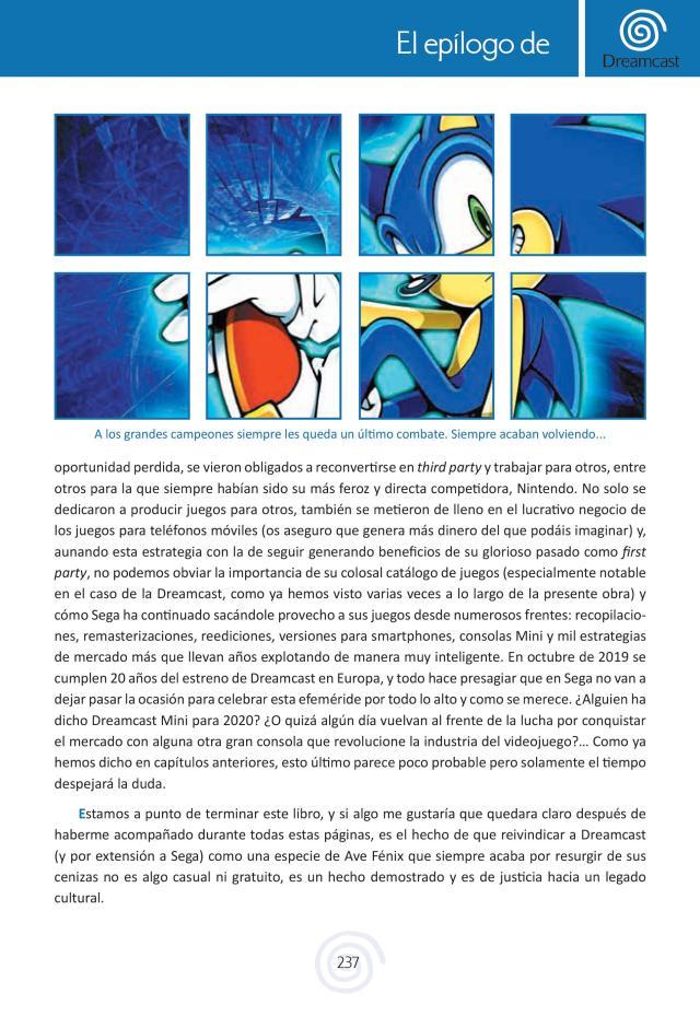 Pagina libro Dreamcast