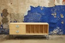 vinyl storage sideboard
