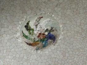 Detall sala Hipòstila Park Güell