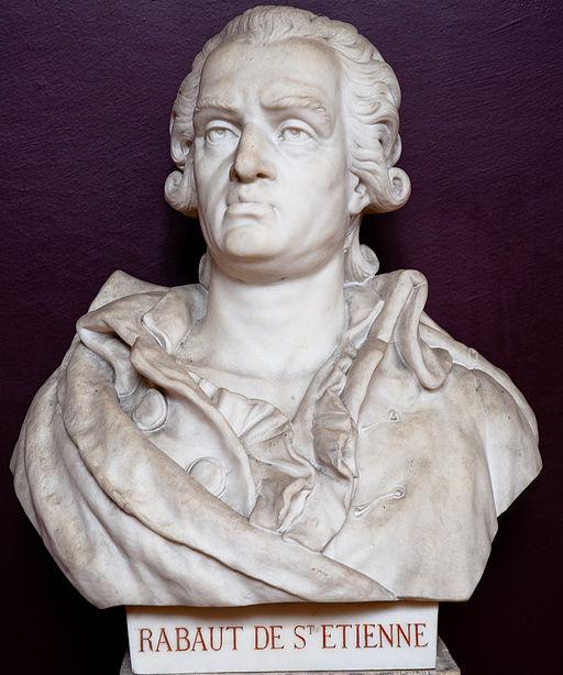 Buste de Jean-Paul Rabaut Saint-Étienne