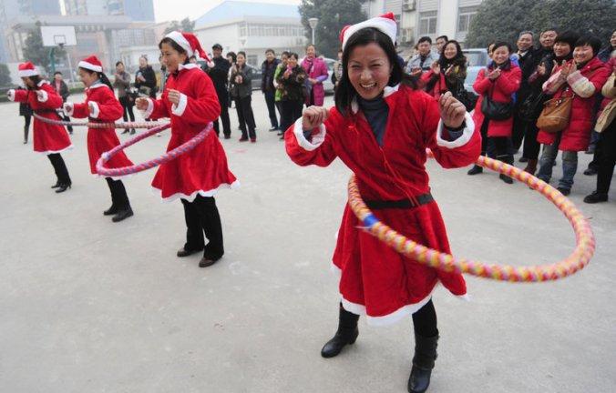 Un noël laïque en Chine.