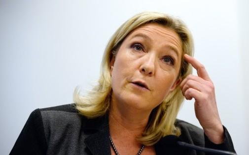 Marine Le Pen, le 22 janvier à Paris. (archives) Crédit : BERTRAND GUAY / AFP