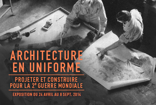 Architecture en uniforme.