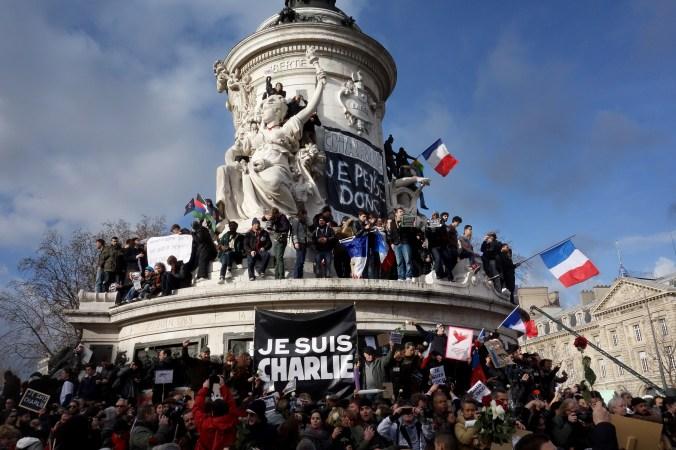 Manifestation place de la République