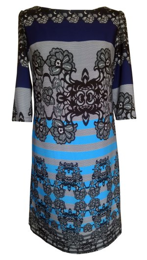 Lace-Placement-Print-shift-dress