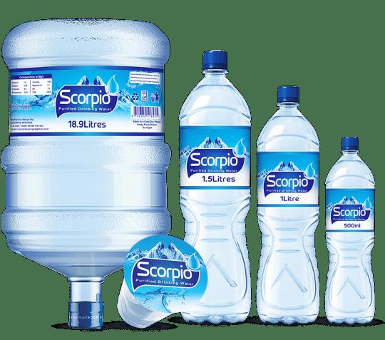 water labels kenya