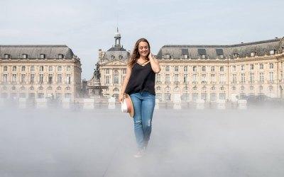 Camille Dufau, marraine de la bella Bordeaux