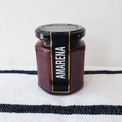 Zwarte kersen jam - Stringhetto