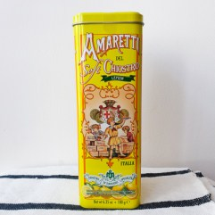 Italiaanse almond koekjes met citroen - Amaretti