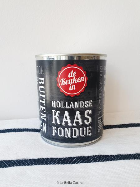 Hollandse Kaasfondue, groot blik
