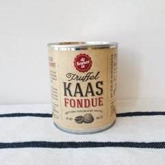 Truffel Kaasfondue, groot blik