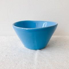 Blauw keramiek dipschaaltje- Rice