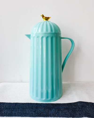 Blauwe thermoskan - Rice