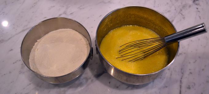 Maialino's Olive Oil Cake - La Bella Sorella Adaptation Dry-&-Wet