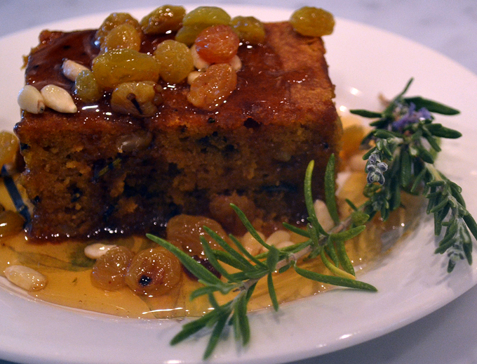 Pumpkin cake with rosemary | labellasorella.com