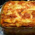 Lasagna con Melanzane & Mozzarella Affumicato – Lasagna with Eggplant & Smoked Mozzarella