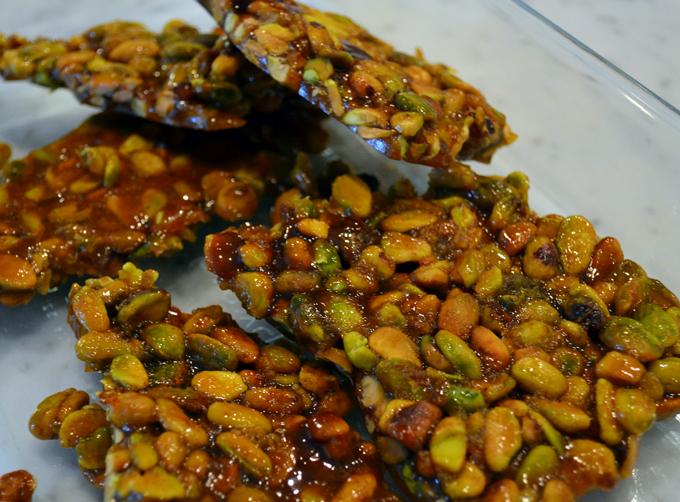 Pistachio Brittle / Croccante | labellasorella.com