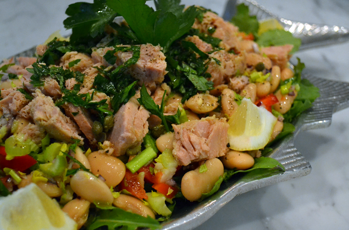 Tuna and Bean Salad | labellasorella.com