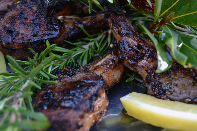 italian lamb chops with rosemary | a 10-course Italian Easter Feast to Impress | Eat. Drink. Work. Play.